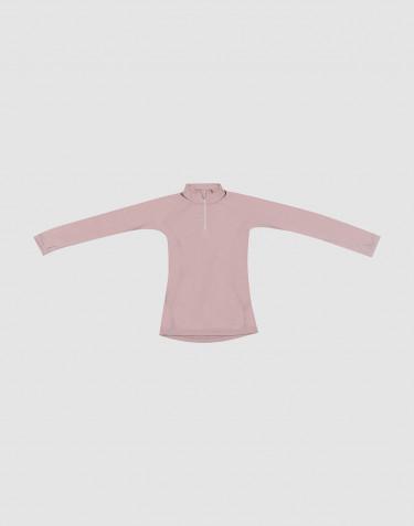 Lasten paita - huippulaatuista ja ekologista merinovillaa vanha roosa