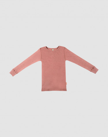 Lasten paita - ekomerinovillaa Roosa