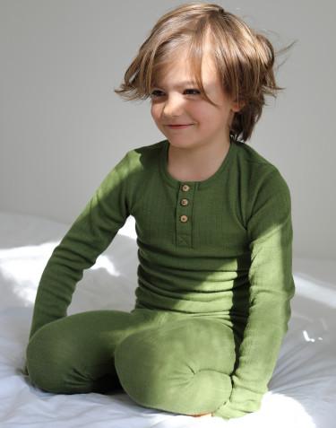 Lasten paita napeilla merinovillaa