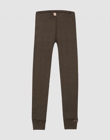 Lasten leggingsit - Tummanruskea