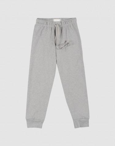 Lasten pyjamahousut harmaameleerattu