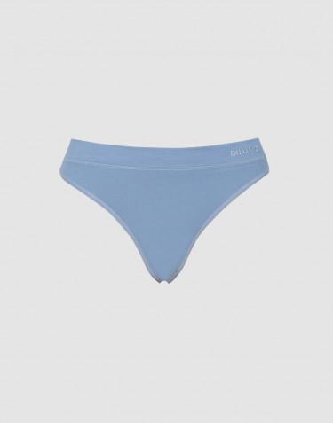 Dilling naisten string-alushousut puuvillaa sininen