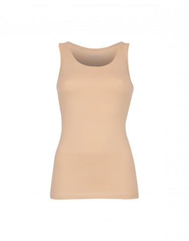 Hihaton paita ekopuuvilla-elastaania beige