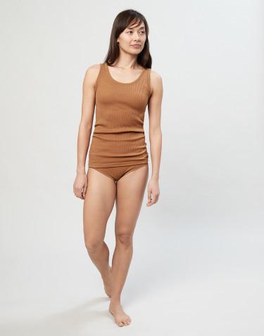 Naisten merinovillaiset midi-alushousut ribbineulosta