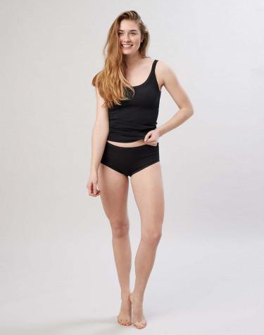 Naisten alushousut merinovillaa musta