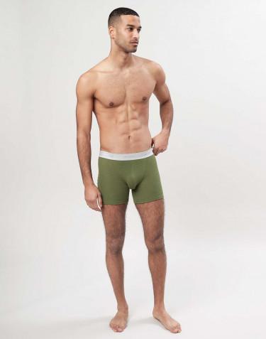 Miesten merinovilla-alushousut - Avokadon vihreä