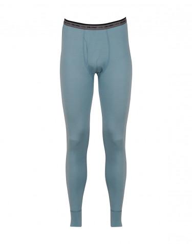 Pitkät alushousut - huippulaatuista merinovillaa siniharmaa