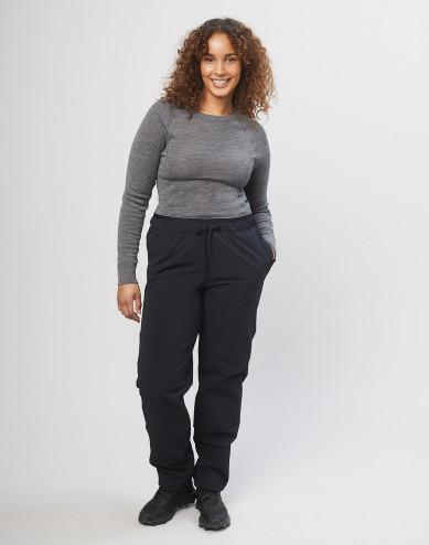 Naisten softshellhousut - Musta