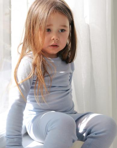 Vauvan leggingsit merinovillasilkkiä