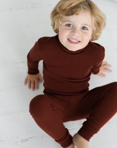 Lasten leggingsit merinovillaa