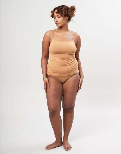 Naisten bikini-alushousut ekologista puuvillaa