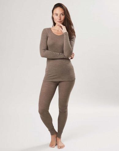 Naisten leggingsit merinovillaa