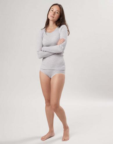 Naisten midi-alushousut merinovillaa