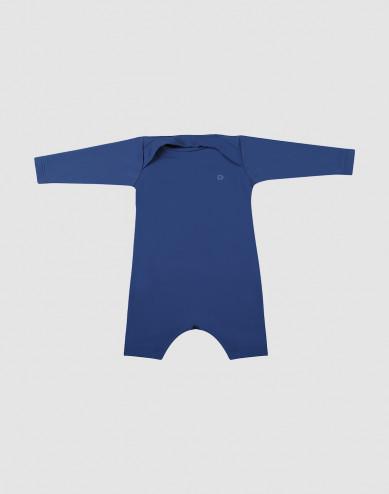 UV-suojattu vauvan puku suojakerroin 50+ sininen