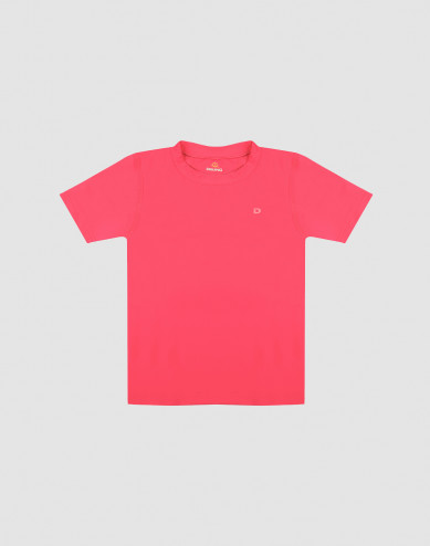 UV-suojattu lasten t-paita suojakerroin 50+ pinkki