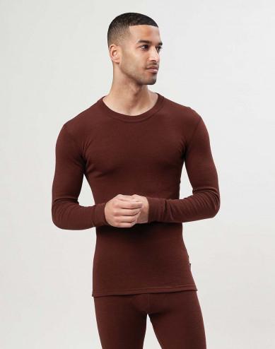 Miesten pitkähihainen paita merinovillaa